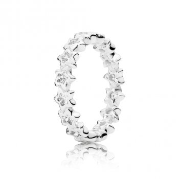 Pandora Starshine Ring, Clear CZ 190974CZ