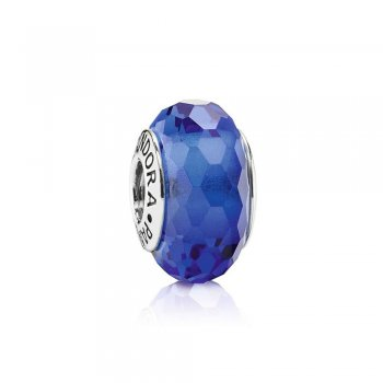 Fascinating Blue Charm, Murano Glass 791067