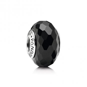 Pandora Fascinating Black Charm, Murano Glass 791069