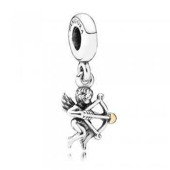 Struck by Cupid Silver Hanging Charm - PANDORA 791251