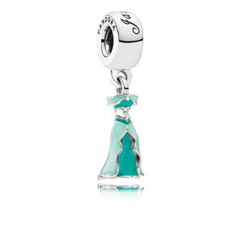 Disney, Jasmine's Dress Dangle Charm, Mixed Enamel 791791ENMX