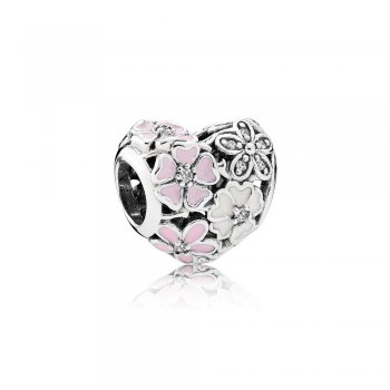 Pandora Poetic Blooms, Mixed Enamels & Clear CZ 791825ENMX