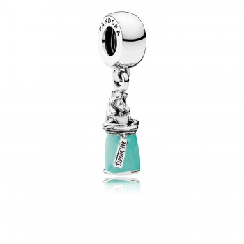 Pandora Disney, Alice's Magic Potion Dangle Charm, Mixed Enamel