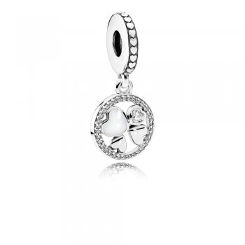 Pandora Hearts of Love Hanging Charm 792104CZ